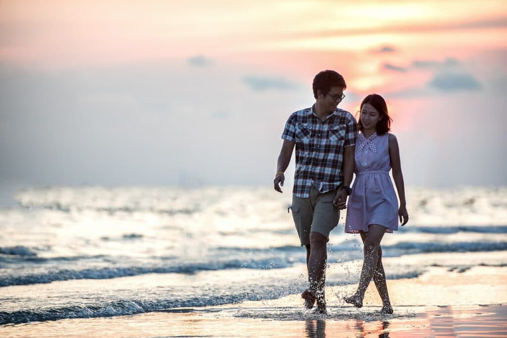 Gentle walk to regulate cortisol levels.