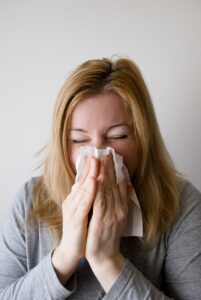 Prolonged stress and too much cortisol makes you susceptible to sickness.