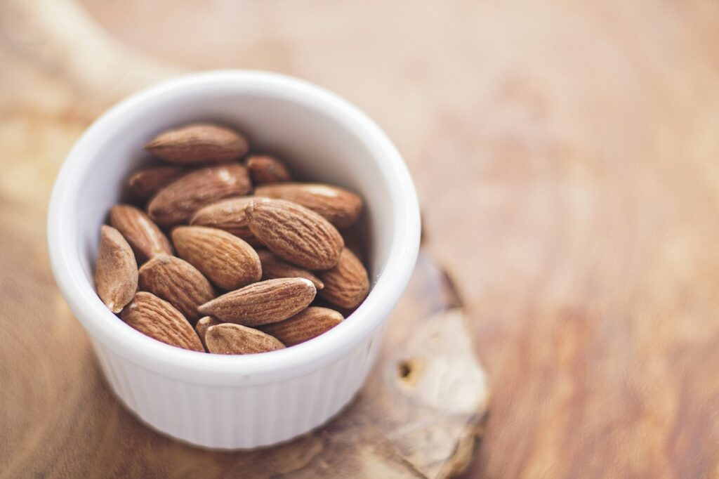 Nuts make a great testosterone-friendly snack.