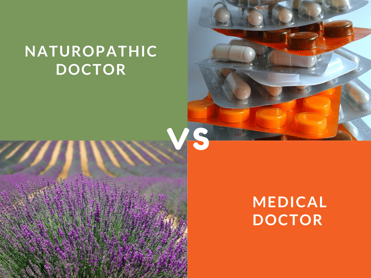 naturopathic doctor vs medical doctor