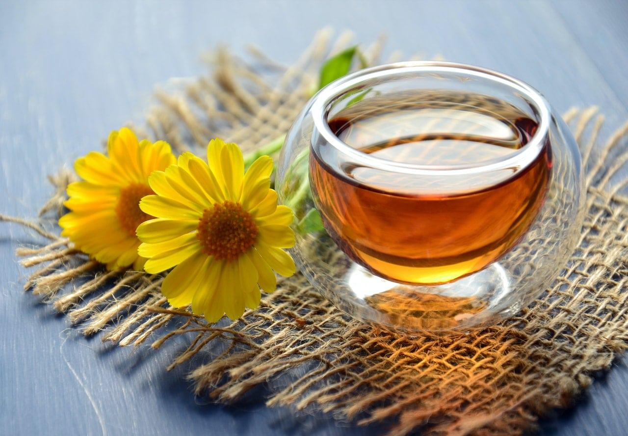 caffeine free tea for the evening
